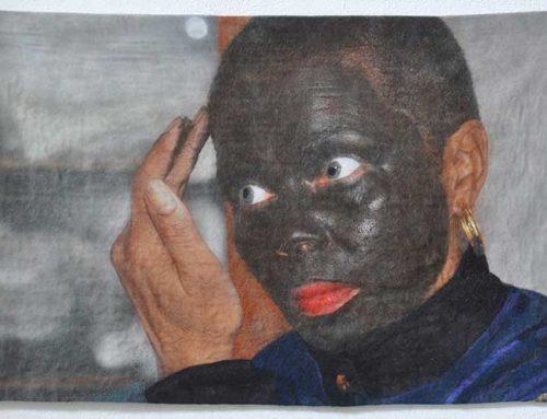 Zwarte Piet (felted portraits)